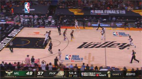 NBA總冠軍賽開打 精神領袖保羅率太陽奪勝