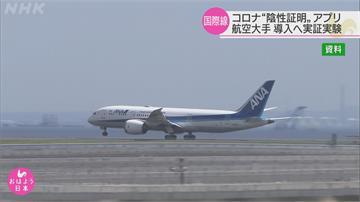 為求盡快恢復跨國飛航 航空公司實驗使用「全球共通數位篩檢證明」