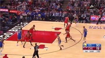 勇士湯普森單場14記三分球 創NBA新紀錄