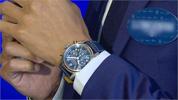 國際名錶秀新款極地馬拉松選手陳彥博代言
