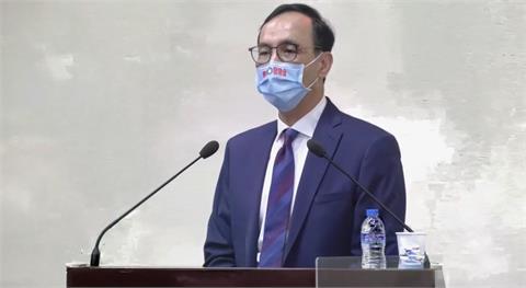 快新聞/朱立倫政見報告完提前離席挨轟 朱辦:請示過會議主席