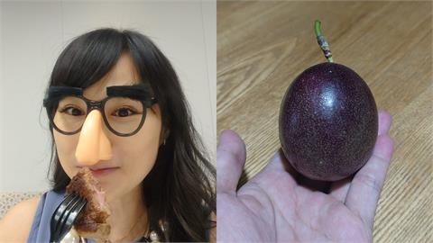 營養午餐發「整顆百香果」 宅女小紅:要怎麼吃?網笑翻有同感