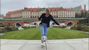 波蘭美女花式足球員 近七年間橫掃各大賽