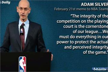 球季無望為選秀權「擺爛」 NBA宣告將嚴懲