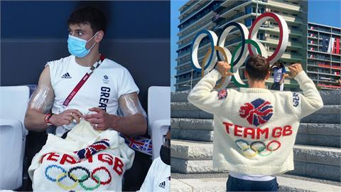 東奧/英國跳水王子「東奧毛衣」織好了!做工超細堪比官方產品