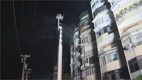 北投7樓住宅頂樓竄烈火 住戶全部疏散