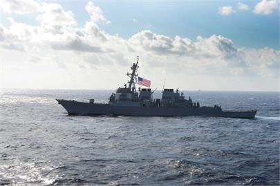 快新聞/美驅逐艦「魏柏號」再度通過台灣海峽 國防部:全程掌握