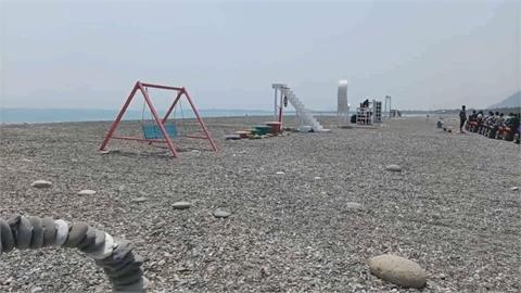 沙灘車提供拍照道具 供遊客拍網美照!人工裝置被批破壞「海洋視野」
