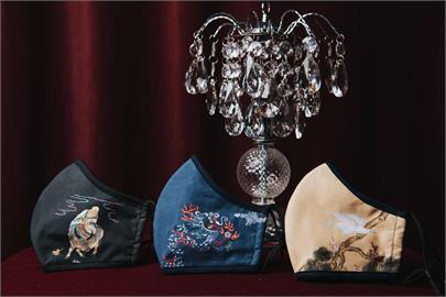 故宮好罩! 德國百年工藝精品梵洛克 首度採用故宮名畫推出精品口罩