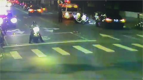 外籍男猝死街頭確診 4名接觸員警緊急隔離