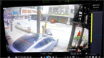 產權糾紛未解爆衝突 飯店老闆開車衝撞住戶