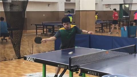 40歲5屆奧運桌球老將 莊智淵隻身拚戰晉16強