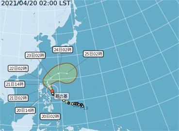 快新聞/全台「解渴」時間曝!強颱「舒力基」開始往北靠近 周三起遠離