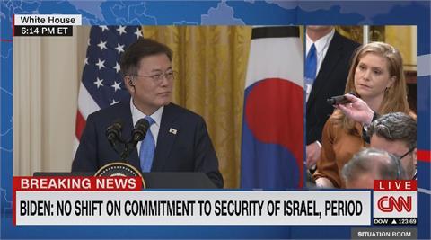 美韓元首記者會 媒體首先關切台灣