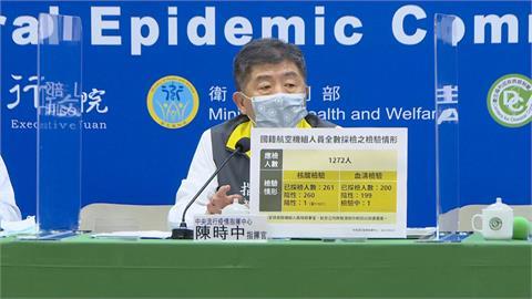 快新聞/擴大加驗華航機組員血清抗體 陳時中:每日200名「提供打疫苗服務」