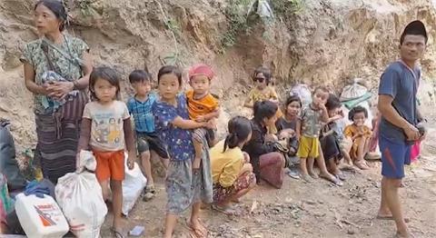 克倫族遭緬軍政府迫害 流離失所躲叢林避戰火