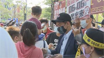 快新聞/罷韓發民主黃絲帶 陳柏惟許願:希望故鄉平安健康「把一些病毒趕出去」