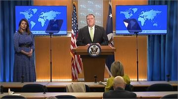 美國務院記者會 蓬佩奧再次恭賀蔡總統就職
