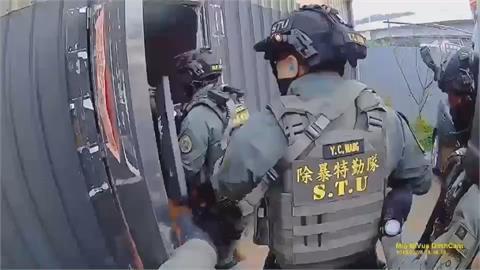 5月起掃黑三大幫派290人被逮 蘇揆出席警署掃黑緝記者會