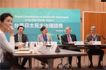 快新聞/美國際民主協會與共和研究所在台設處 蕭美琴:展現對台灣民主重視