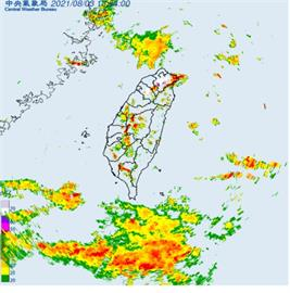 快新聞/注意!雙北「大雷雨」來了 慎防劇烈降雨、強陣風