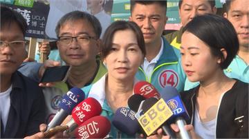 選前超級星期天 陳其邁、韓國瑜妻子掃街拜票