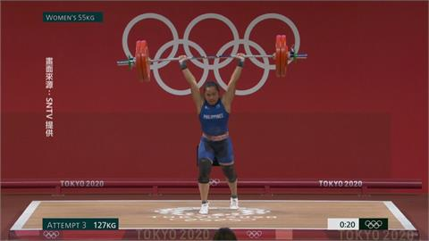 迪亞斯奪菲律賓首面奧運金牌! 受訪喊:好想喝台灣珍奶!