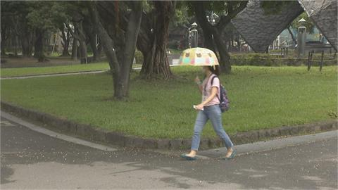 快新聞/記得帶傘!「午後雷陣雨」又來了 氣象局:下週一降雨範圍較大