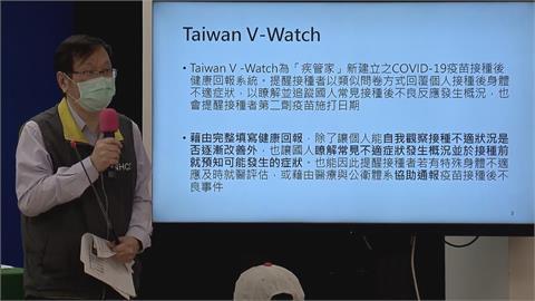 快新聞/V-Watch最新統計 回報接種者近25%發燒38度以上
