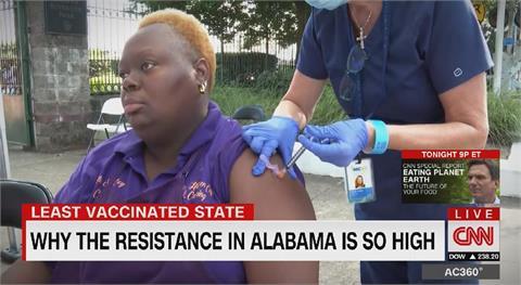 阿拉巴馬州民眾接種意願低 州長無奈喊話
