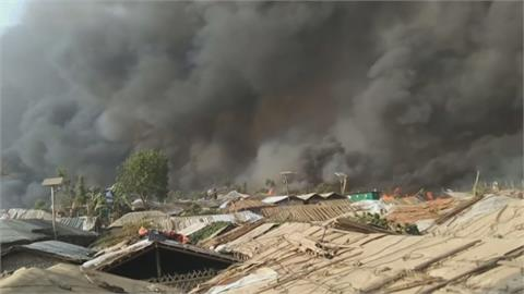 孟加拉難民營近年最嚴重火災 至少15人身亡、400人失蹤