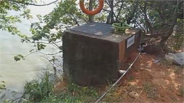 大圳水門鎖頭被破壞 竟是工作站班長偷抽水