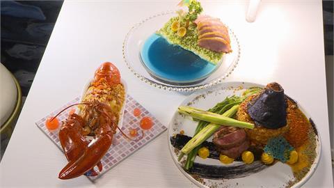 海島燉飯的美景 明太子醬做「熔漿」秒噴發