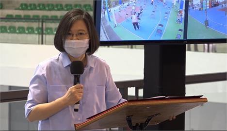 快新聞/衝刺7月底「疫苗覆蓋率25%」! 蔡英文喊話:快登記「團結防疫守台灣」