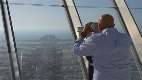 杜拜52層樓高觀景台落成 可飽覽波斯灣美景