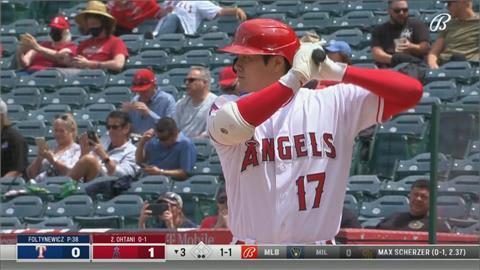 前一天才投完球 大谷當打者轟全壘打