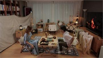 走不出去就自己嗨!裝潢大改造 客廳變身露營地