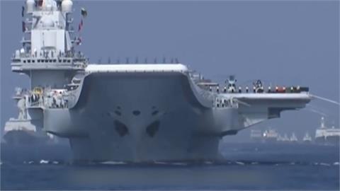 山東號躲回母港三亞港 害怕與美軍雷根號強碰?
