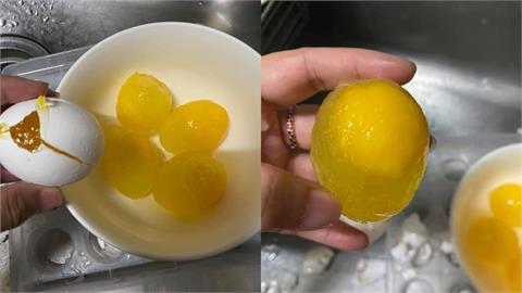 雞蛋放冰箱竟結凍變「冰蛋」 網求救…老饕反推:冷凍過後更好吃!