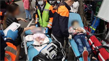 快新聞/林森北路寢具店失火! 消防救出4大3小含1名嬰兒