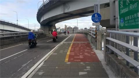 台北橋機車道路面刨鋪 23和24日夜間分向封閉