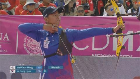 東奧台灣射箭男團 不敵南韓隊奪得銀牌