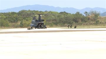 阿帕契空中分列式+IDF衝場 展示國軍戰力