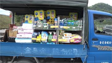行動購物車揪甘心 宜蘭在地超市送暖偏鄉