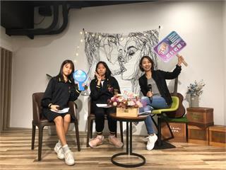 快新聞/用「聲音」跨足Podcast主持節目「π講」 李妍慧:新竹朋友發聲、對話的地方