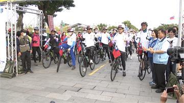 侯友宜國慶騎單車 八里到鶯歌40公里