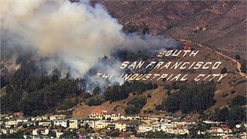 加州野火燒不盡 動員9千名消防員 1萬戶斷電