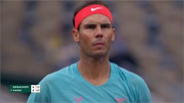 網球/西班牙蠻牛爭生涯第20冠 批評法網比賽球濕又重