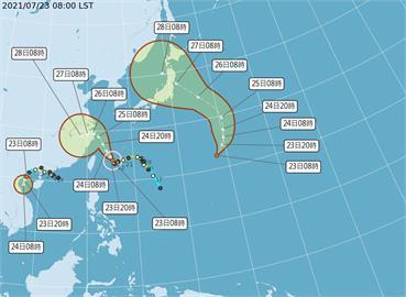 快新聞/熱帶低壓生成一路衝日本!林嘉愷:有機會成颱、恐影響東奧