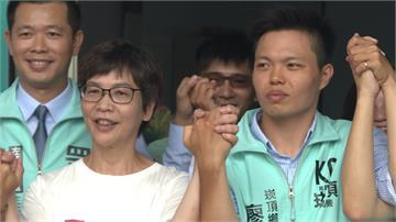 民眾黨插旗南台灣!崁頂鄉長補選蔡壁如到場力挺